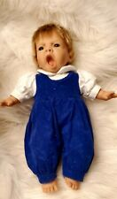 New ListingBerenguer Vintage Crying Baby Doll w/ A Blue Cord Dress