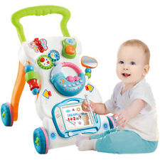 Baby Walker Sit-to-Stand Learning Walker Interactive Learning Toys for Kids