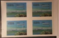 Antigua #730 MNH Uncut S/S EUR30.00 200yrs Manned Flight Zeppelin 1983