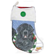 Newfoundland Newfie Dog Christmas Stocking