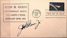 Usa 1962 822 1193 mercury project FDC John H. Glenn Autograph space spatiale