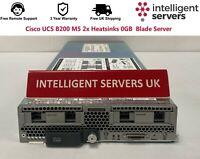 Cisco UCS B200 M5 2x Heatsinks 0GB  Blade Server - UCSB-B200-M5