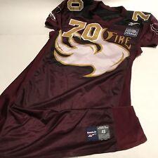 9a8b8f95d6e NFL Europe Rhein Fire Jersey Reebok Size 48 XXL Team Issue Used RARE