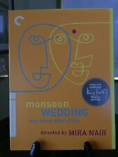 MONSOON WEDDING- Criterion Collection 2 DVD Digipack, #489, R1 Dir. Approved OOP
