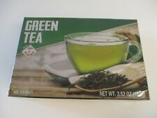 GREEN TEA WITH TAG STRING 100 BAGS FACTORY SEALED -2