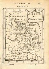 POLAND/CZECH. Silesia Moravia. Schlesien. 'Silesie et Maravie'. MALLET 1683 map