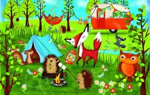 Happy Campers 100 pc Jigsaw Puzzle by SunsOut
