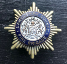 Lancashire County Fire Brigade Cap Badge