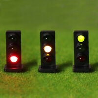 JTD871GYR 5PCS HO scale LEDs made Dwarf Signals for Railway signal 3 Aspects