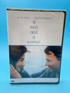 A Man and a Woman / DVD / Factory Sealed / USA FORMAT
