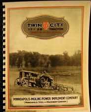 1927  Twin City 17- 28  Tractor  Sales Information Manual  Fully Illustrated