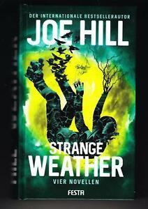 Joe Hill - Strange Weather (Festa Verlag 2020) ähnl.  Stephen King