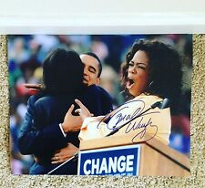 Oprah Winfrey Signed Autograph 11x14 Photograph Obama Rare Celebrity USA