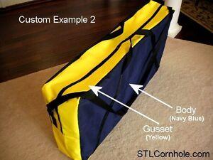 Premium Cornhole Boards Carry Case Michigan Wolverines Bags Game Storage