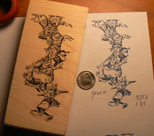 "P5 Goblins Halloween 3.7x1.8"" NEW rubber stamp WM"