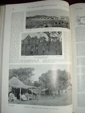 1899 BOER WAR BADEN POWELL ROUGH RIDERS RHODESIA POLICE