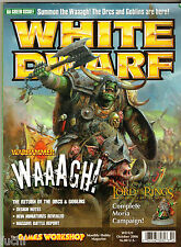 White Dwarf #321 Warhammer Fantasy Orcs & Goblins, LOTR Moria Campaign
