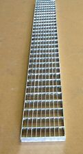 """Mea-Josam 4.8""""W x 39.4""""L 152801 A Class Galvanized Steel Mesh Grate"""