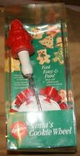 Wilton 1992 Christmas Cookie Cutter Wheel New In Box