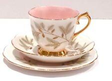 Tea Cup & Saucer White British Porcelain & China