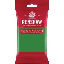Renshaw Ready Roll Icing Fondant Cake Regalice Sugarpaste 250g LINCOLN GREEN