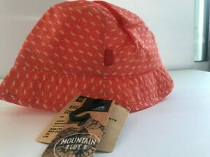 Outdoor Research Kids' Kendall Sun Hat, Flame, XS/S NEW