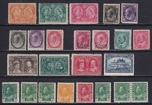 Canada 1897-1911 Unused Stamp Lot  Very HICV  See*