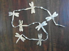 Balinese handcrafted aluminium hanging decoration Dragonfly - 145cm