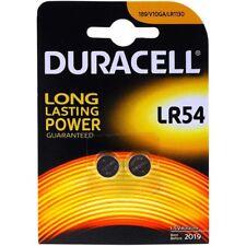 Pile-bouton Duracell type/réf. LR1130 (2 unités sous blister) 1,5V  Alkaline