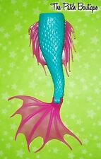 MONSTER HIGH CREATE A MONSTER CAM MERMAID SIREN DOLL REPLACEMENT TAIL PART