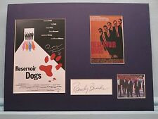 """Quentin Tarantino - """"Reservoir Dogs"""" signed Randy Brooks as Detective Holdaway"""