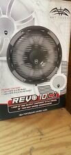 "Wet Sounds REVO-CX-10-XS-W-SS 10"" 2-way marine speakers with RGB LED light"