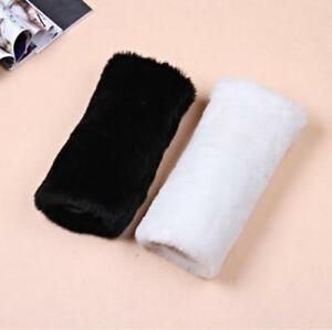 Free Shipping Winter White Ivory Hot Hand Muff Warmer Faux Fur Bridal Gloves NEW
