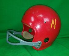 Nice Vintage Red Youth Suspension Football Helmet Team Eagle 5215