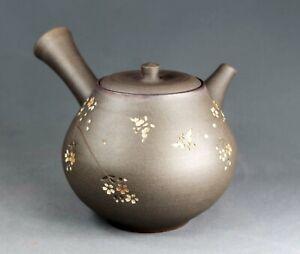 Tokoname Hand-made Teapot by Seihou, #seiho013 : D101*H95mm, 380ml