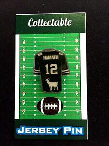 New York Jets Joe Namath jersey lapel pin-Collectible-Team GOAT