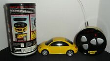 WW BEETLE Radio Control Remote Car-Tyco R/C Canned Heat - 1999 Mattel - Yellow