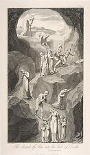 William Blake Engravings Tornado Fine Art Print