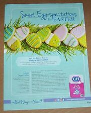 2017 print ad page -C & H cane Sugar- Easter egg sugar cookies cookie recipe AD