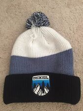 Dickies Beanie - Black, Grey, White - with POM