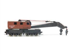 N Scale AHM ATSF Santa Fe Crane Car #1951