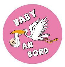 Autoaufkleber Sticker Baby an Bord Mädchen Aufkleber