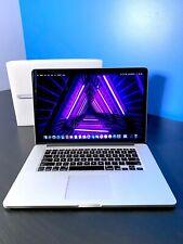 APPLE MACBOOK PRO 15 INCH RETINA MAC LAPTOP   QUAD CORE I7   1TB SSD   OS-2018