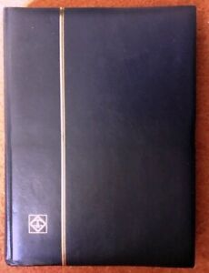 Lighthouse Black Stockbook 32/64 pages looks and feels unused, Unmarked, Superb