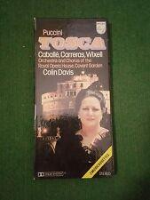 PUCCINI TOSCA Caballe Carreras Wixell cofanetto  2 MC cassette