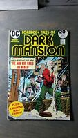 Forbidden Tales Of Dark Mansion #13 Sept 1973 Bronze Age DC Comics   Solid copy!