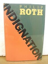 Indignation by Philip Roth 2008 HB/DJ *Signed First Printing*