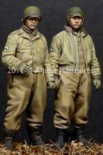Alpine Miniatures 1:35 WWII US AFV Crew 2 Resin Figures Set #35116