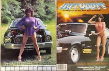 Vintage 1984 Miss Autobuff Calendar Poster & January Issue Magazine Mustang II