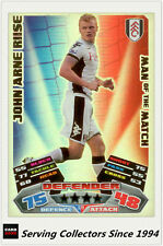 2011-12 Topps Match Attax Card Man Of Match Foil 379 John Arne Riise